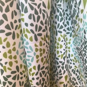 Other - Window panel set - green and blue curtains